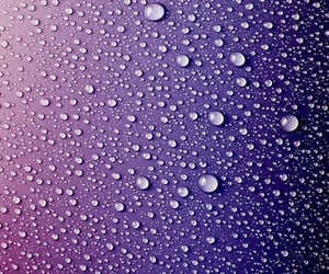 iphone wallpaper, raindrops, and purple rain image