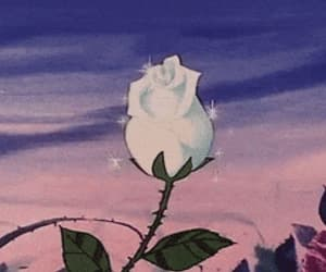 flower, aesthetitc, and gif image