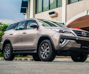 car, Toyota, and toyota fortuner image