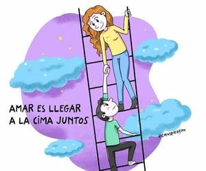vida, juntos, and frases español image