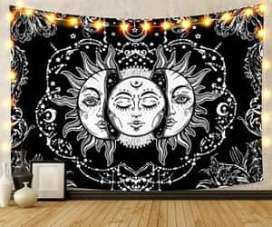 etsy, indian tapestry, and sun tapestry image