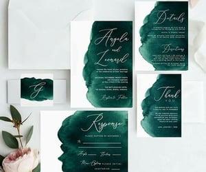 wedding invitations, wedding inspirations, and wedding goals image