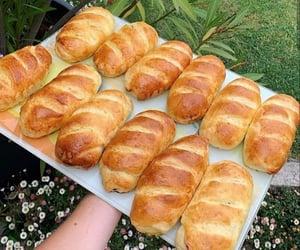 aesthetic, bread, and brioche image