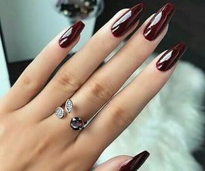 accesories, burgundy, and jewellery image