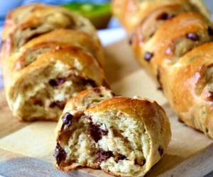 baguette, chocolate chip, and viennoiseries image