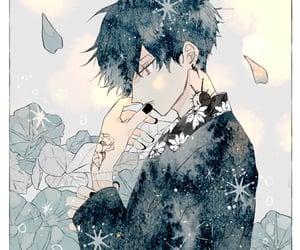 anime, black, and boy image