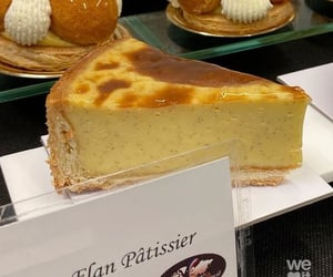 aesthetic, pastry, and flan patissier image