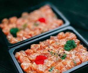 japanese food, sashimi, and asian food image