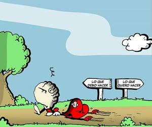 cartoon, frases español, and actitud image