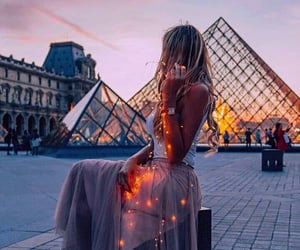 france, night, and romantic image