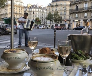 food, france, and coffee image