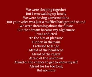 heartbreak, poems, and sad poem image