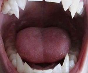 vampire, fangs, and teeth image