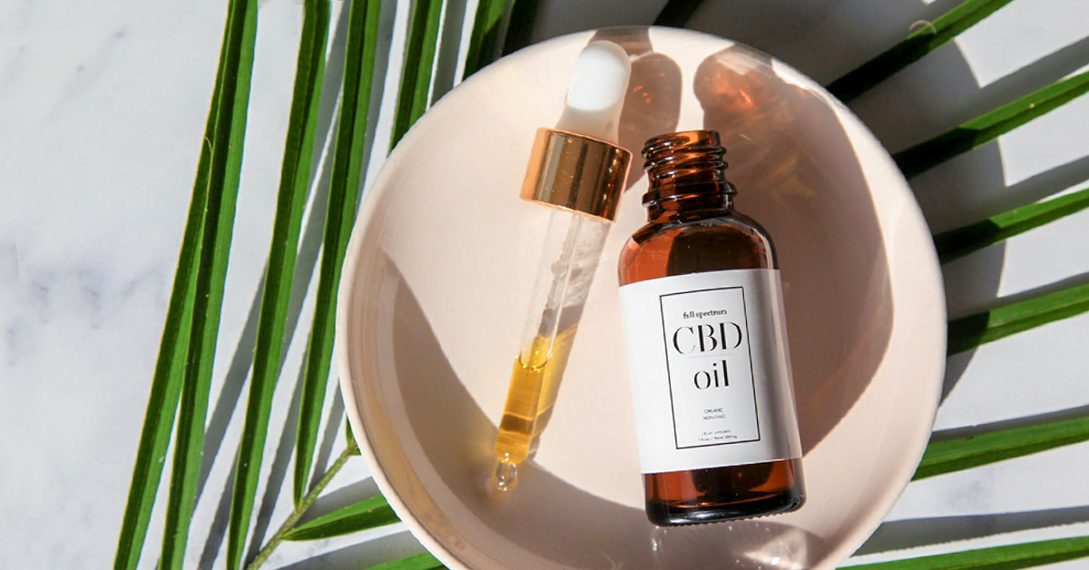 cbd oil and cbd oil products image