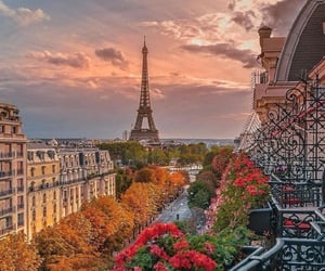 paris, travel, and colorful image