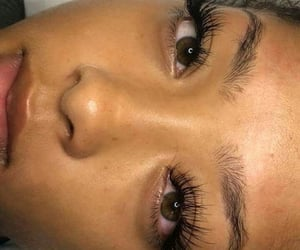 beauty, eyelash extensions, and brow goals image