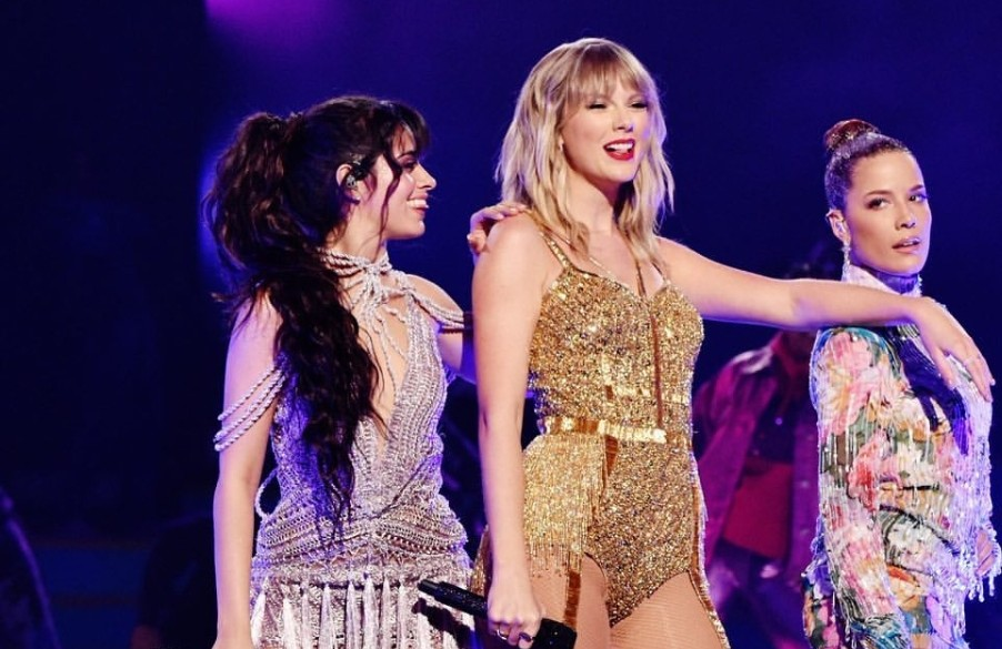 halsey, Taylor Swift, and camila cabello image