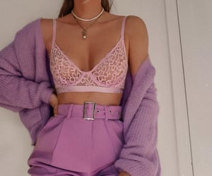 lilac and outfit image