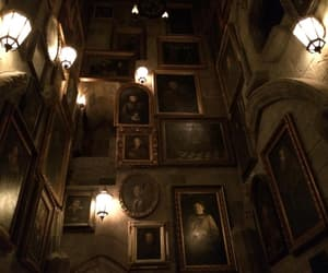 harry potter, hogwarts, and painting image