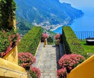 Amalfi coast, mountain view, and travel image