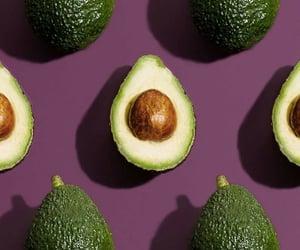 avocado, beautiful, and fresh image