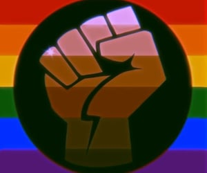 pride, be proud of you, and pride month image