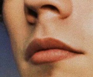 Harry Styles and lips image