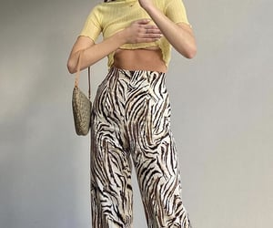 yellow top, mesh top, and fashion style mode image