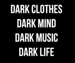 dark, life, and music image