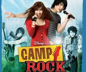 camp rock, poster, and camp rock poster image