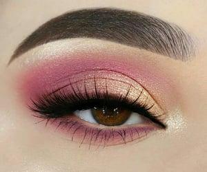 eyelashes, eyes, and gold image