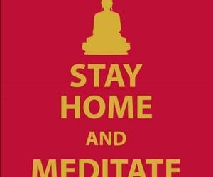 meditate, meditation, and budismo image