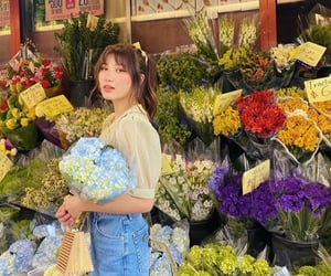 aesthetic, ashley, and floral image