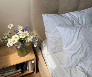aesthetic, flowers, and home image