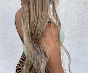 beautiful, wavy, and icy blonde image