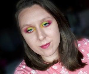 eye makeup, makeup inspo, and eyeshadow image