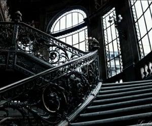 dark, black, and architecture image
