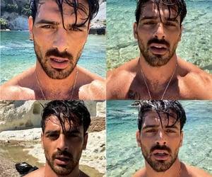 Hot, italian, and man image