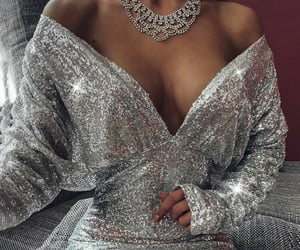 aesthetic, fashion, and silver image