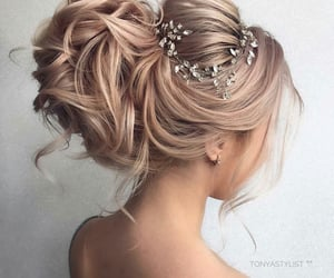 beautiful, beauty, and hairstyles image