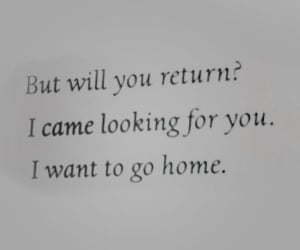 cry, i miss you, and quote image