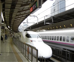 japan, transport, and trains image