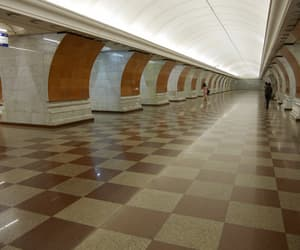 architecture, metro, and moscow image