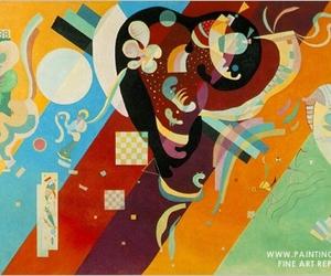 art, paintings, and kandinsky image