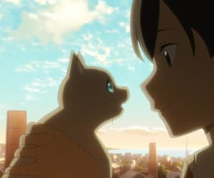 a whisker away, 泣きたい私は猫をかぶる, and hinode sunrise attack. image