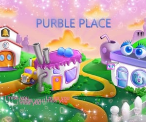 aesthetic and purble place image