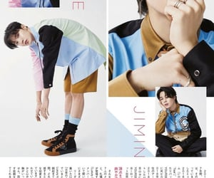 magazine, bts, and jhope image