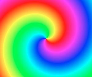 rainbow and background image