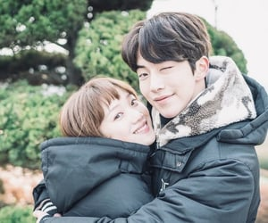 lee sung kyung, nam joo hyuk, and couple image