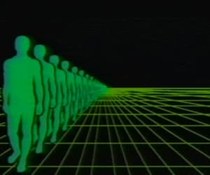 edgy, gif, and green image